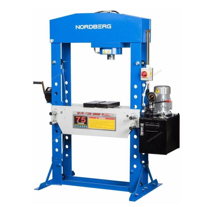 Пресс электрогидравлический, усилие 75 тонн