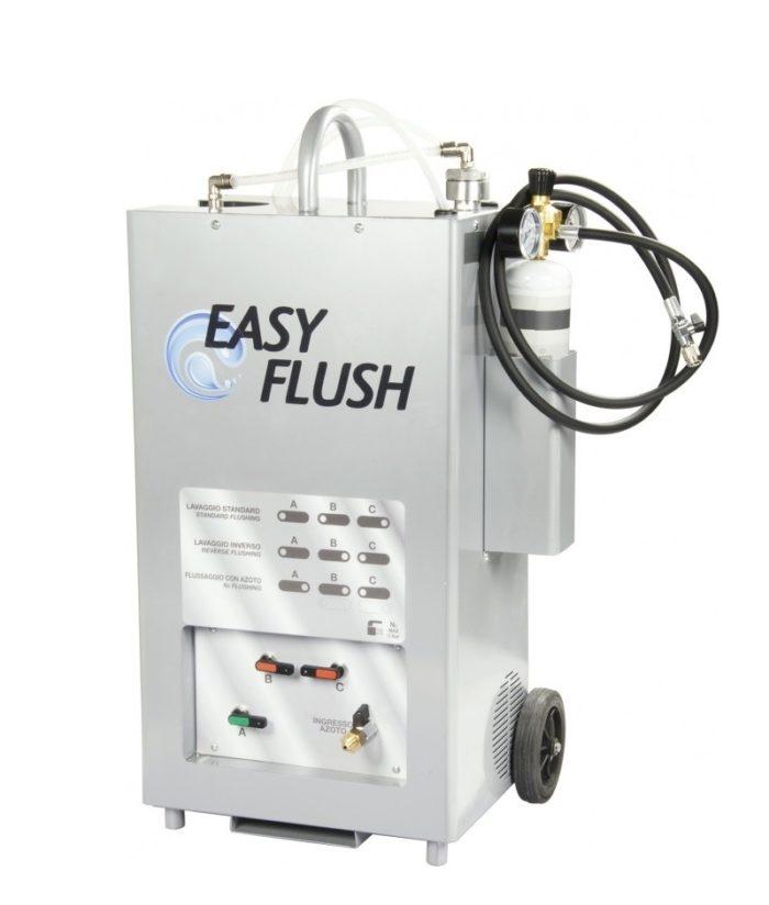 EASY FLUSH Передвижная установка для промывки систем кондиционирования и холодильных систем