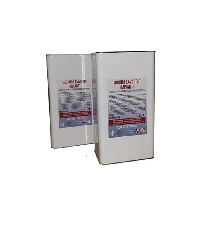 Жидкость промывочная для промывки систем кондиционирования, 10 л.