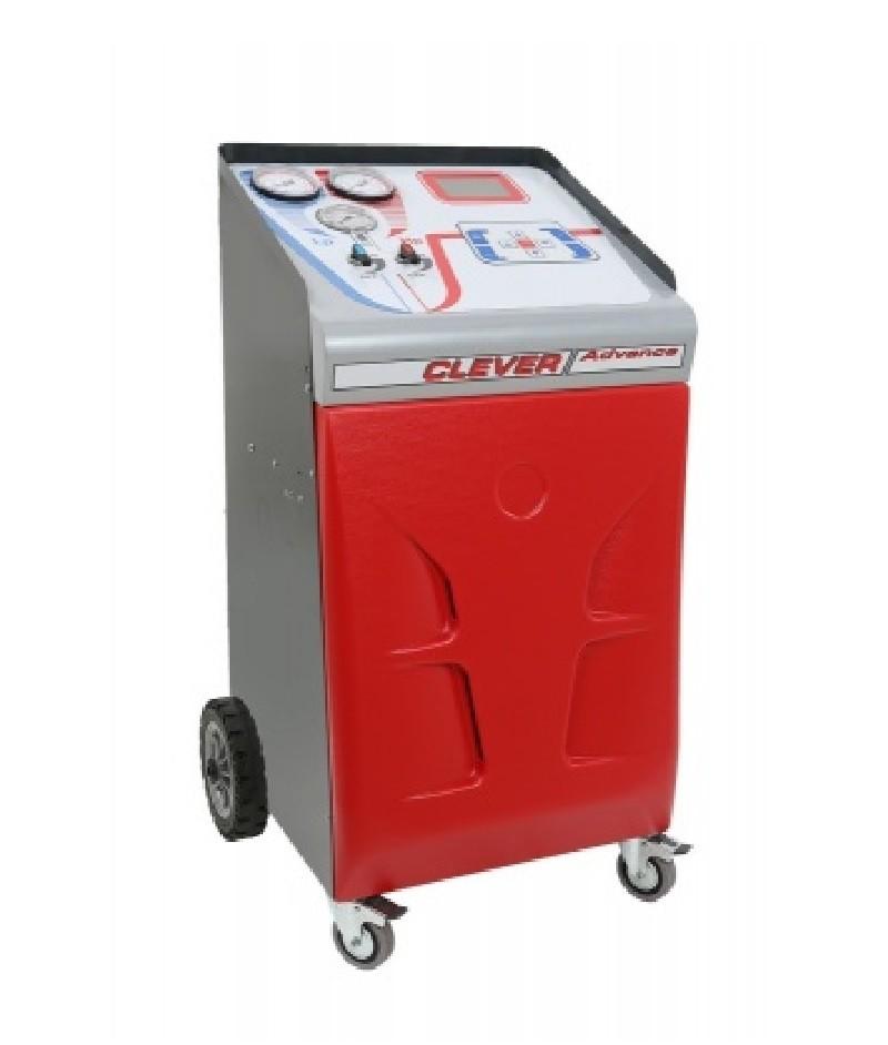 CLEVER ADVANCE BASIC- установка для заправки кондиционеров, автомат, блокировка весов