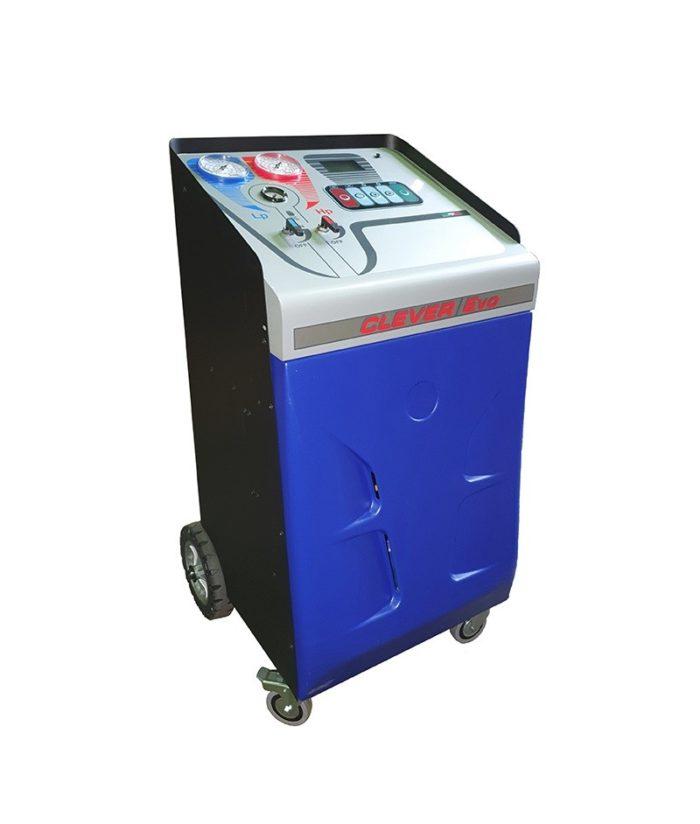 CLEVER EVOLUTION- установка для заправки кондиционеров, автомат, блокировка весов