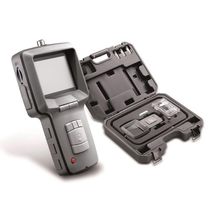 "Видеоскоп с гибким зондом ø 5,8 мм, 640х480 px, дисплей TFT 3,5 "", длина зонда 1000 мм."