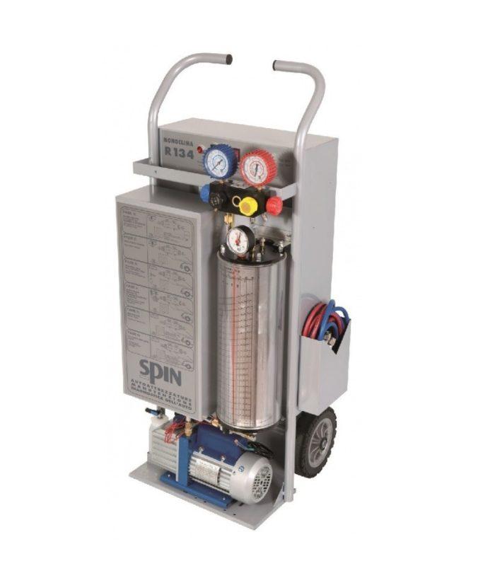 MONOCLIMA 134 - установка для заправки кондиционеров, ручное управление